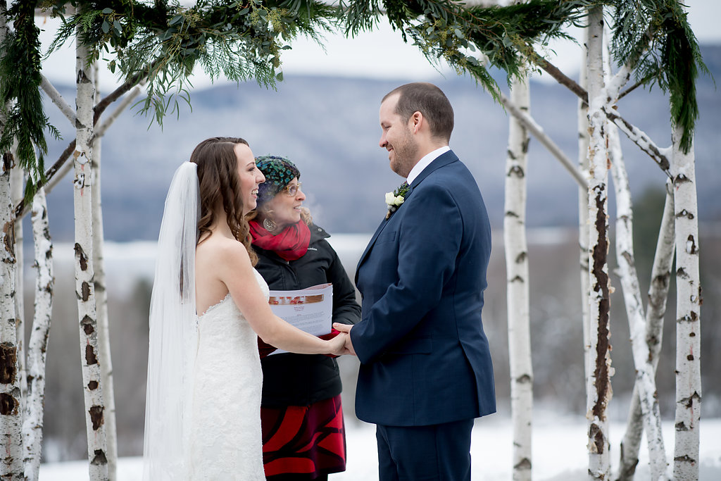 I Just Got The Sweetest Review From Heather And Patrick They Married In December Mountains Of Southern Vermont As You Can See
